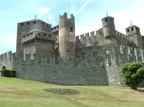 historical castles fenis castle italy visititaly info