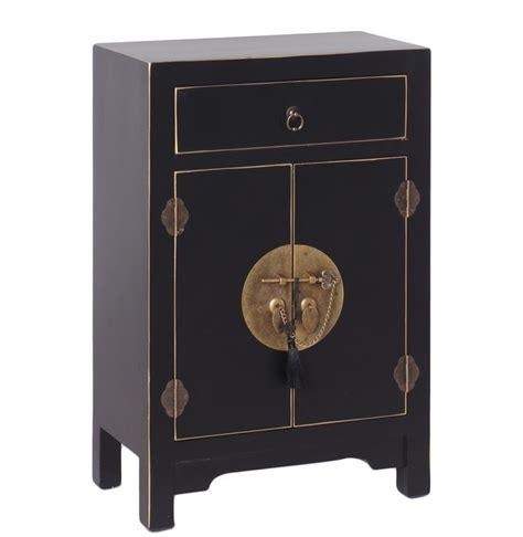 comodini cinesi comodino cinese nero ethnic chic mobili orientali cinesi unici