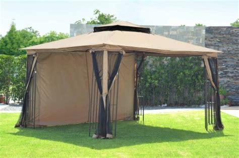 10x12 Canopy Shadriddle Leaf Gazebo With Sunshade 10x12 Reviews