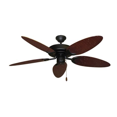 Bamboo Ceiling Fans by Bamboo Ceiling Fan Raindance Matte Black Customize