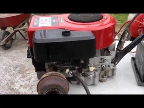 briggs  stratton  hp ic engine listed  cl doovi