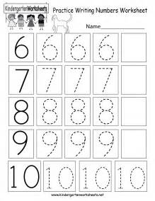free printable practice writing numbers worksheet for