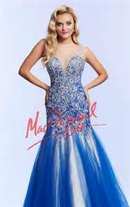 Mermaid embellished gown by mac duggal prom