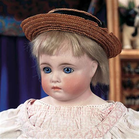what is a bisque doll puppen spielzeug museum 16 pretty faced german