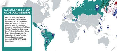 pases donde los colombianos no necesitamos visa embajada de colombia en australia