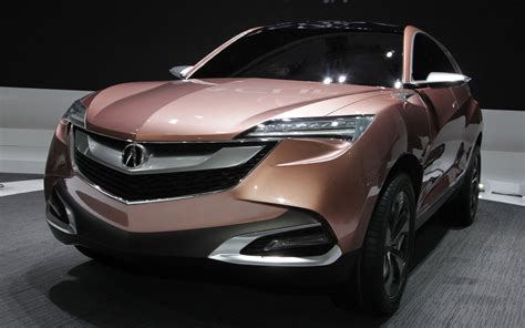 acura concept suv x right front view photo 1