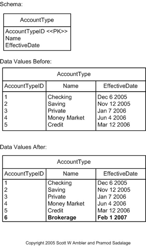 Refactoring Databases - Insert Data