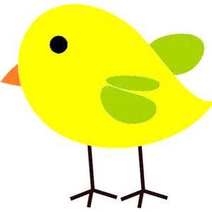 yellow bird clip art 47