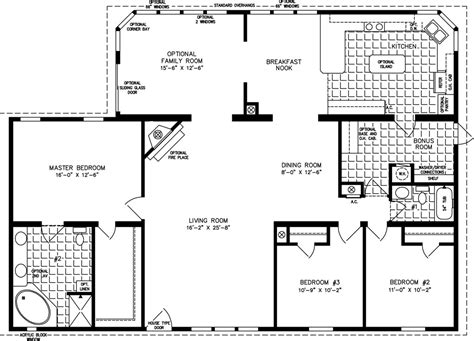 jacobsen homes floor plans the tnr 7561 manufactured home floor plan jacobsen homes