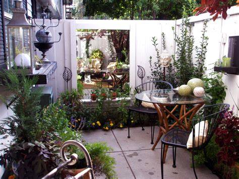 courtyard backyard ideas cozy intimate courtyards hgtv