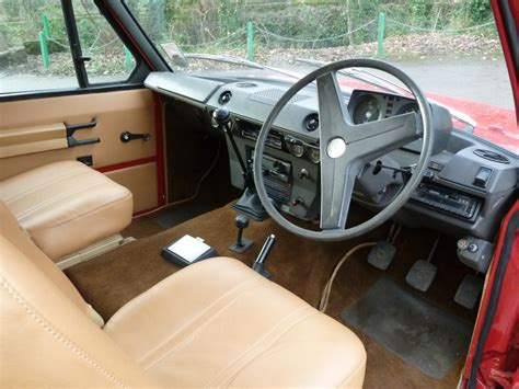 vintage range rover interior eoe 652k 1972 quot suffix a quot 2 door classic range rover