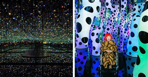 mirror room interactive art installations  yayoi kusama