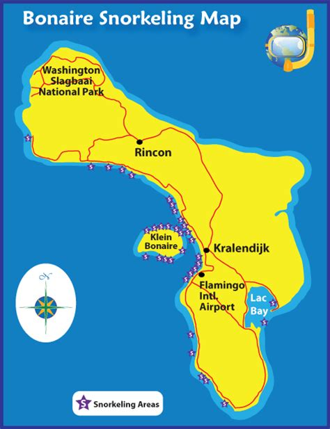 bonaire map bonaire snorkeling how is it