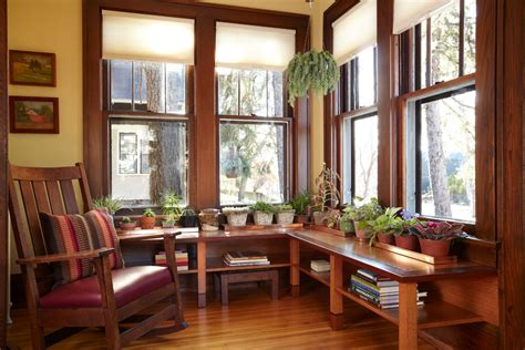 Sunroom Window Treatments Sunroom Window Treatments Entry Craftsman With Bookshelves
