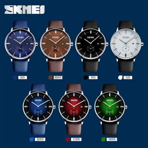 Jam Tangan Skmei Black skmei jam tangan analog pria 9083cl black jakartanotebook