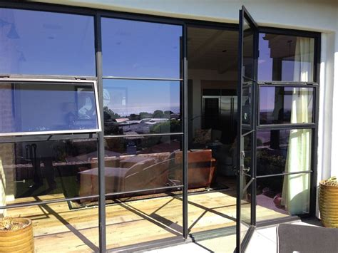 french door awnings euroline steel french door system with awning portofino doors windows