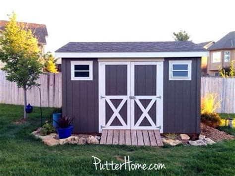 colors to paint your shed exteriors outdoor spaces