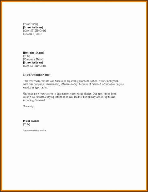 change address letter template