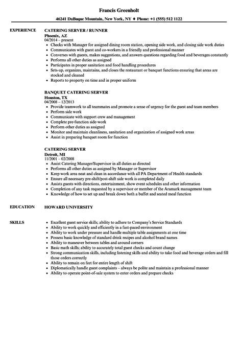 server perfect restaurant server resume sample free career resume