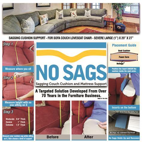 sagging sofa cushions support for sagging sofa cushions evelots cushion support