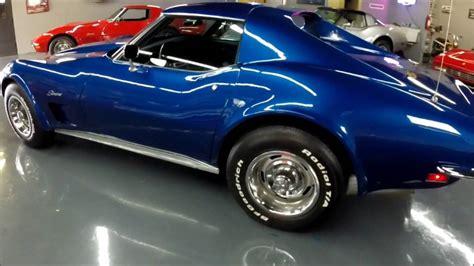 1973 blue corvette 1973 corvette blue black s match 4 speed only