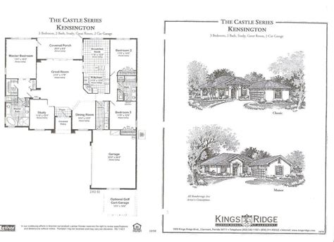 Kings Ridge Clermont Fl Floor Plans | kings ridge clermont fl floor plans meze blog
