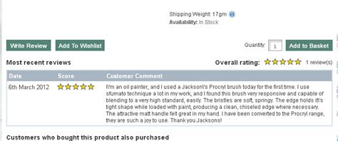 Product Review Jonathan Product by Product Reviews On The Jacksons Website Jackson S