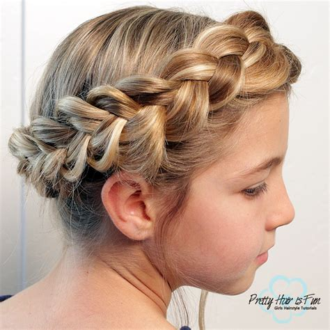 easy hairstyles no bobby pins easy dutch crown braid no bobby pins required pretty
