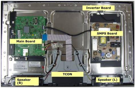 Tv Lcd Ukuran Besar cara memperbaiki lcd samsung 40 inch mati hidup bunyi tiktik panduan teknisi