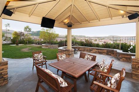 backyard audio system outdoor sound system