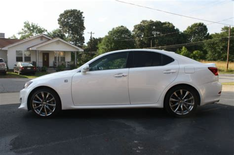 white lexus 2011 2011 lexus is250 pearl white f sport