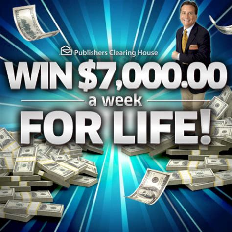 Pch Win 7000 A Week For Life - who will become the first winner from giveaway 6900 pch blog