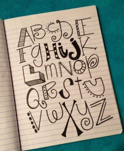 creative ways to write letters on paper 66 best images about abc s ways to write letters on
