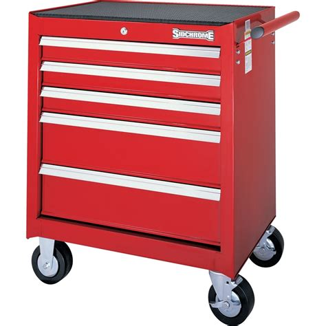 5 Drawer Tool Cabinet by Sidchrome 5 Drawer Roller Tool Cabinet Bunnings