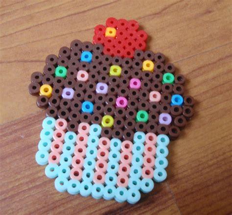 cupcake perler perler bonding with dear bag n craft