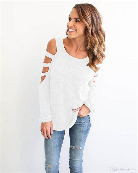 14505 Pink Blouse Two Pcs85 summer fashion tops shirts casual sleeve cold shoulder t shirt femme