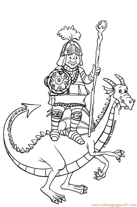 coloring pages knights and dragons knight and dragon colouring pages coloring home