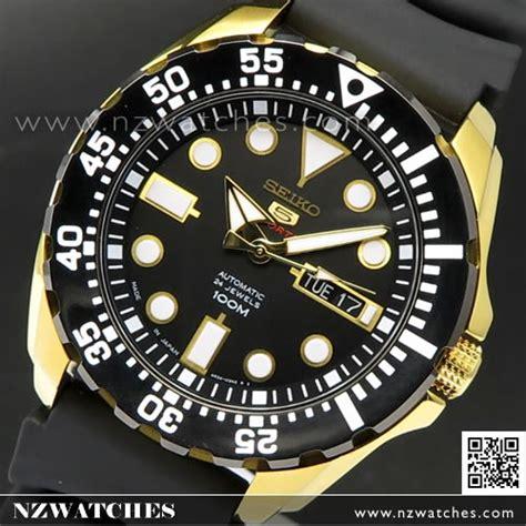 Seiko 5 Srp608k1 Sports Black Gold buy seiko 5 automatic black gold resin 100m sport
