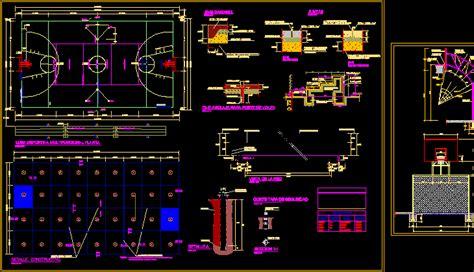 sport slab details dwg detail  autocad designs cad