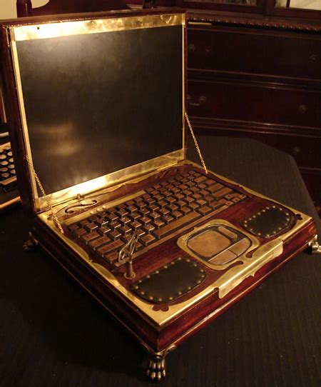 Crafted Russian Redwood Pc by 12 Steunk Gadgets And Designs