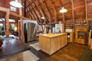 Pre Made Kitchen Cabinets 11 Amazing Old Barns Turned Into Beautiful Homes