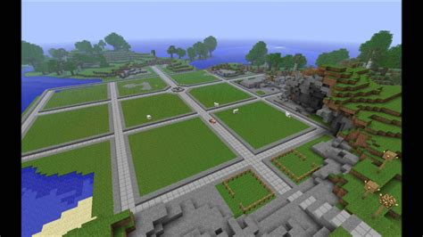 youtube building layout minecraft town timelapse layout youtube