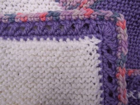 how to crochet a border on a knitted blanket crossed crochet border crocheted my patterns