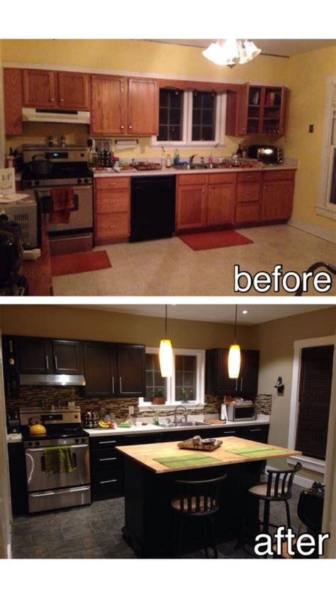 Kitchen Before And After Diy by Diy Kitchen Before And After Room Ideas