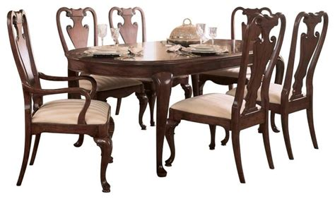 brussels traditional dining room set 7 piece set american drew cherry grove 7 piece leg dining room set in