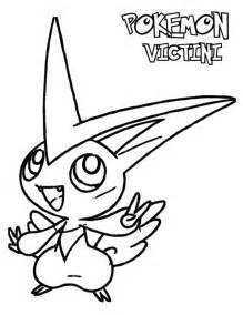 pokemon black and white coloring pages black and white coloring sheets victini coloring pages