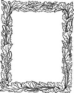 Leafy Frame Clipart - Clipart Suggest