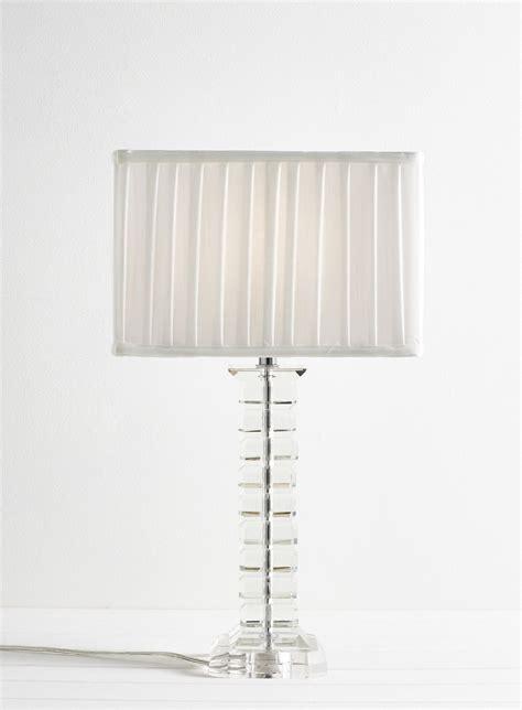 glass bedside l shades pair of tall modern glass table light bedside l lights