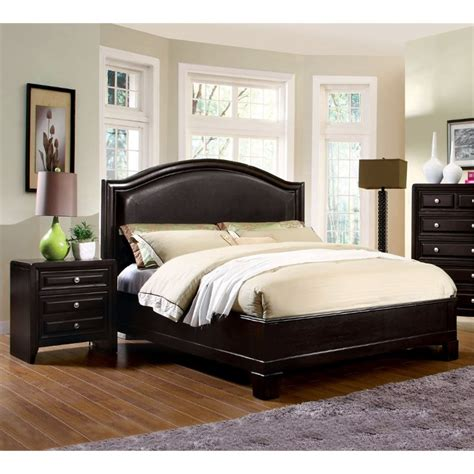 furniture  america basonne  piece queen bedroom set  espresso  ebay