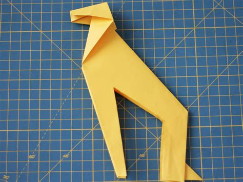 How To Make Origami Giraffe - how to make an origami giraffe 13 steps with pictures